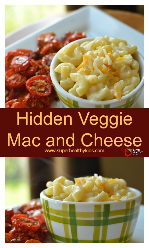 Hidden Veggie Mac and Cheese Recipe. Another mac and cheese classic, made healthier- with hidden veggies! www.superhealthykids.com/hidden-veggie-mac-and-cheese