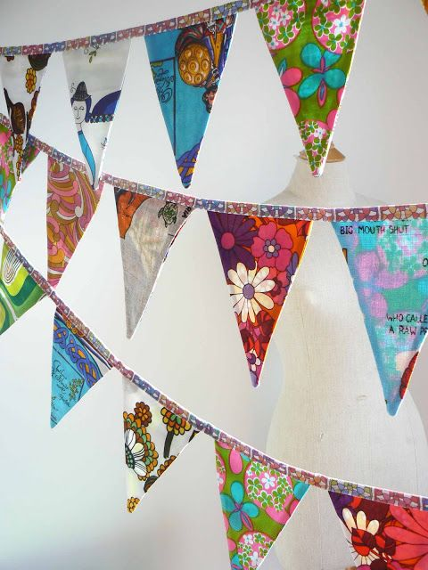 Bunting Banner | Crafty Sewing | Pinterest | Bunting ...