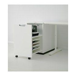 GALANT Opbergeenheid voor printer - wit - IKEA
