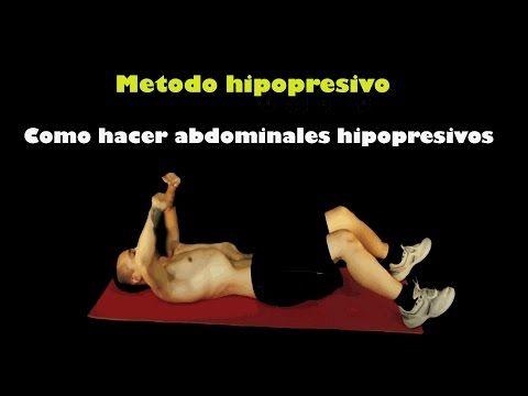 Como hacer abdominales hipopresivos - El método hipopresivo - YouTube