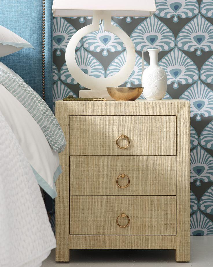 Palmetto Wallpaper - Wallpaper | Serena and Lily accent ...