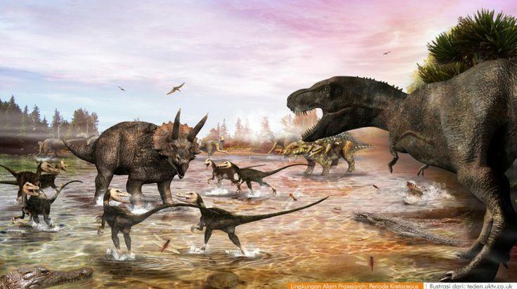 wacananusantara.org   Lingkungan Alam Prasejarah; Periode Kretaceous