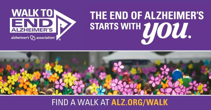 Everyone please take a moment to consider joining or finding a Walk to participate in yourselves, or go to my page and donate! Together we can make an impact and erase Alzheimer's! Below is a link to my Alzheimer's page...Please check it out and donate! http://act.alz.org/site/TR?fr_id=9429&pg=personal&px=12101344