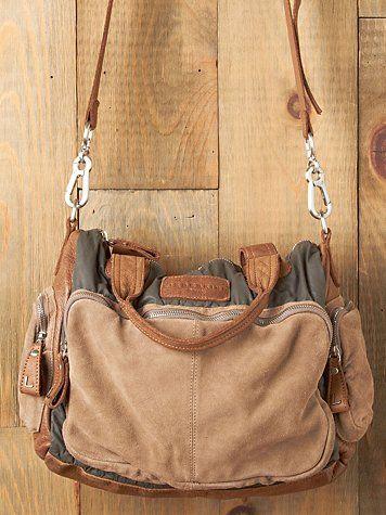free people brown bag