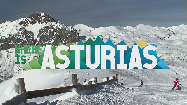 Skiing in Asturias