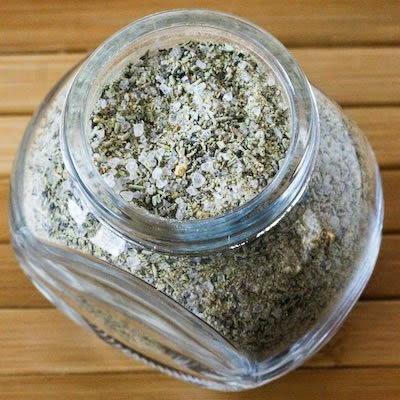 Versatile Rosemary-Garlic Rub: adds flavor to chicken, pork, use as a sprinkle on fish, veggies!