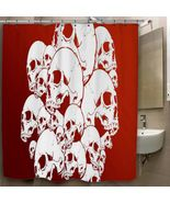 Skull Digital Art Red Surface Custom Print On P... - $35.00 - $41.00