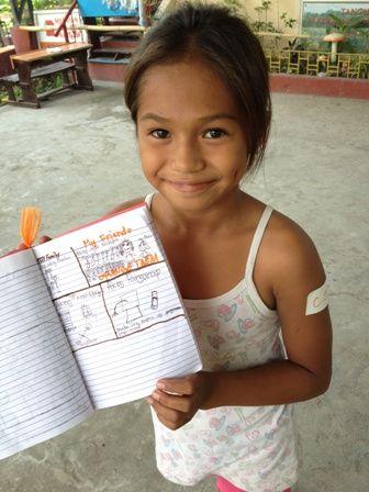 Four Square Activity helps kids capture summer memories!
