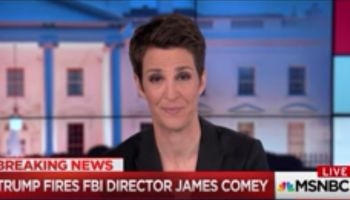 WATCH: Rachel Maddow HAMMERS Trump, Explains Why Comey Firing Is A Cover-Up Like Watergate