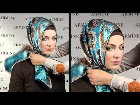 Esarp Baglama Sekilleri 2 - Armine Esarp / Turkish Hijab Tutorial