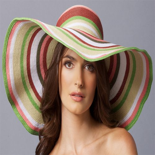 Ladies large hat images | Spring Inspired Women Sun Hat Ideas 2013