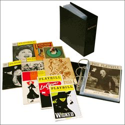The Universal Playbill Binder - Archival Quality Storage for Playbills of all Sizes $36.95