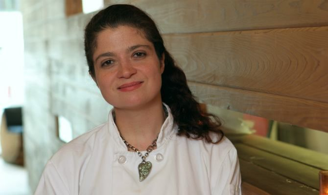 She's a force to be reckoned with in the kitchen, but she has a soft spot for chocolate and Michael Symon. The Daily Meal sat down with Iron Chef, Food Network star, and executive chef at Butter Alex Guarnaschelli, and spoke with her about her partnership with Dove Chocolate.