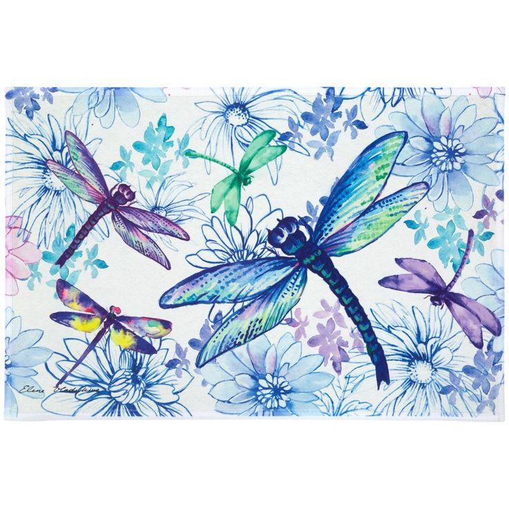 Flight of the Dragonflies Indoor/Outdoor Mat : The Animal Rescue Site