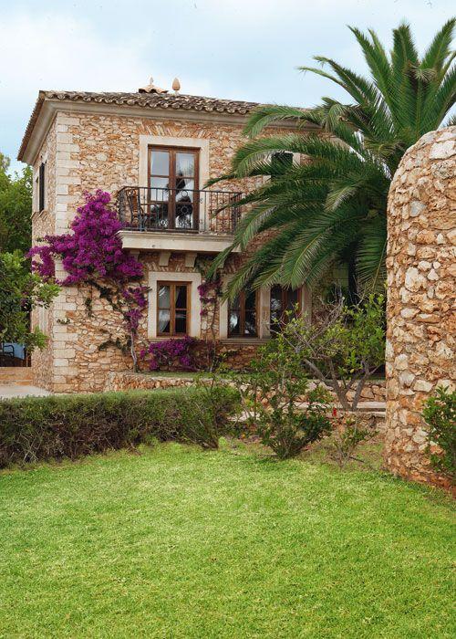 Casa de campo en Mallorca, pertenece a la fachada del hotel Sa Pletasa.