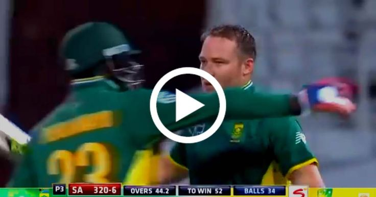 VIDEO: South Africa vs Australia 3rd ODI 2016 - Full Highlights - SA Chased 371   Watch South Africa vs Australia 3rd ODIDurban2016 highlights here. South Africa chased the target of 371 against Australia with the help of David Miller's outstanding unbeaten 118 from just 79 balls. Australia batted first David Warner and captain Steven Smith both scored impressive hundreds which helped Australia to make 371 in 50 overs. While chasing at one stage it seemed impossible for South Africa to win…