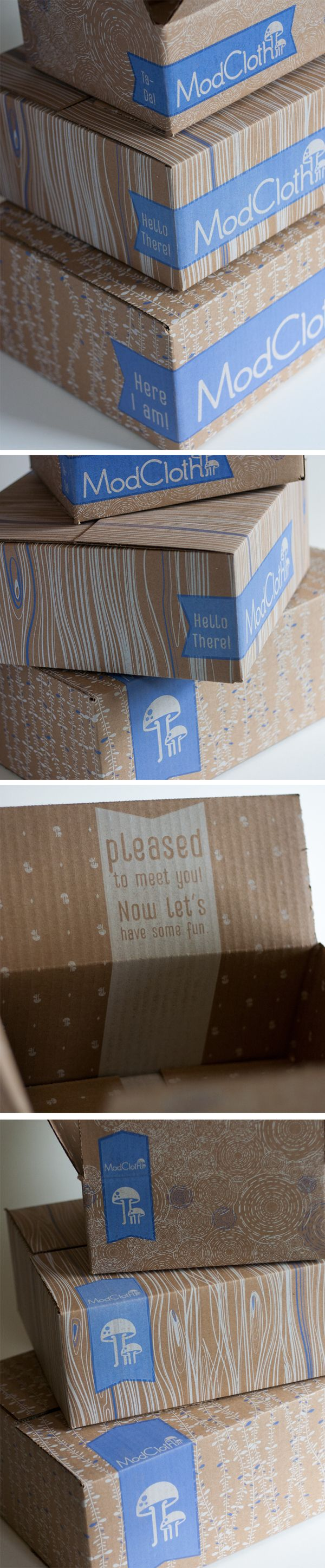 2013 Shipping Boxes on Behance