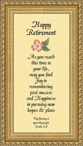 http://www.retirementmessageideas A selection of retirement poems and verses for family, friends or acquaintances that can be used in a retirement card or with a gift
