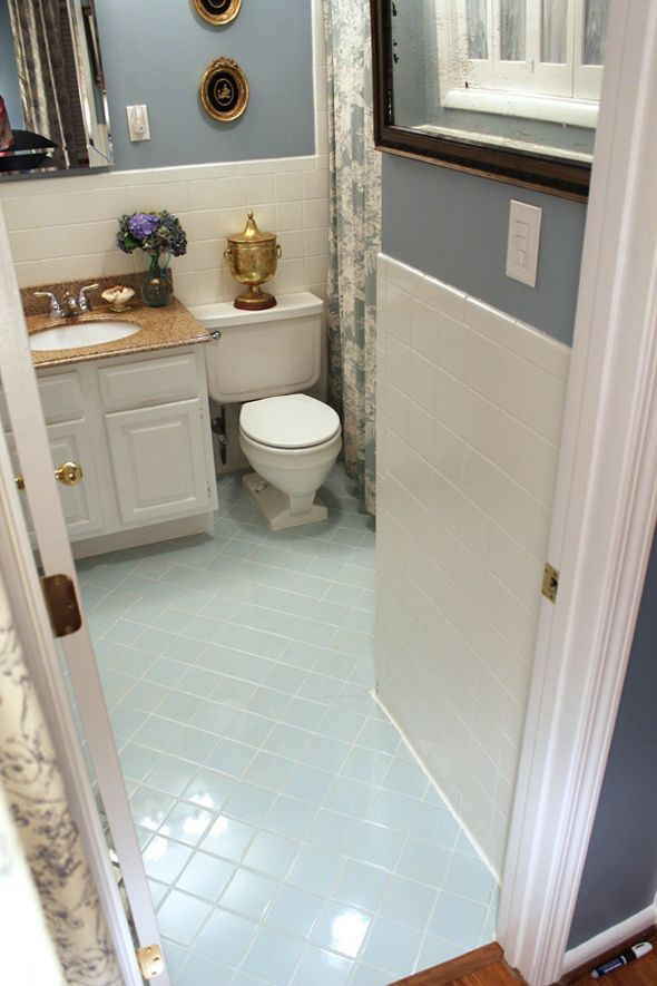 find this pin and more on painting quick easy bathroom tile - Can I Paint Bathroom Tile
