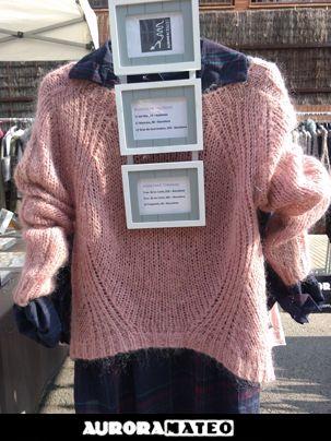 #sueter #rosa #auroramateomoda #shoppingbcn #modainvierno2014