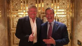Sulky Nigel throws his toys out of the pram - bugger off to Trump's playpen please !