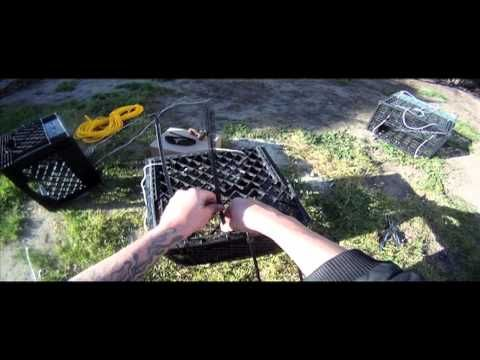 How To Make A Milk Crate Crab Amp Crayfish Trap Trapping