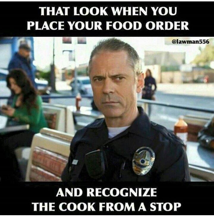 Cop humor... so true