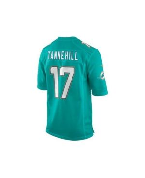 Nike Little Boys' Ryan Tannehill Miami Dolphins Game Jersey  - Blue 5/6