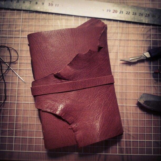 Long stitch journal