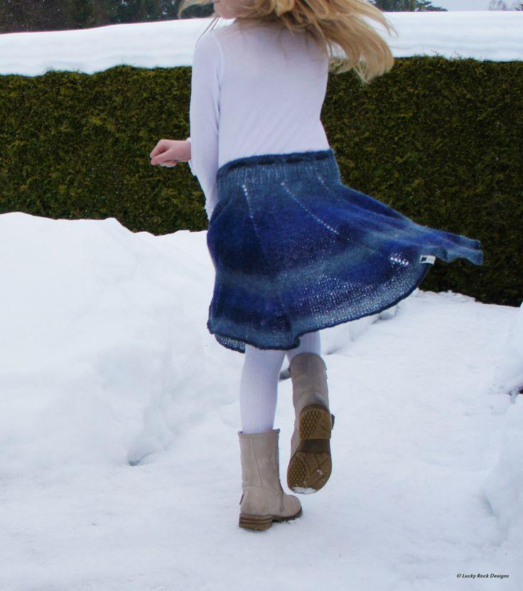 Sticka en kjol till barn