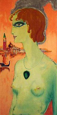 'Marchesa Luisa Casati' - 1921 - by Kees van Dongen