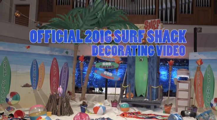 204 Best Images About VBS 2016 SURF SHACK On Pinterest