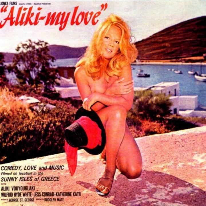 Όταν η Αλίκη ήταν γυμνή- Οι τολμηρές πόζες της εθνικής σταρ |thetoc.gr  ((This was the movie I saw when I was a little girl! I fell in love with Aliki ~ as did every Greek girl or boy! I still have this album. I don't know why the Greeks didn't let her out of her contract to work in America.  She was so talented, funny and oh so darling!!!))