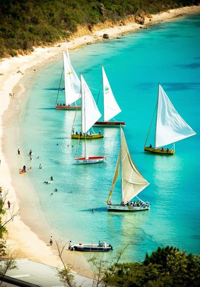 Anguilla Island,Caribbean Sea