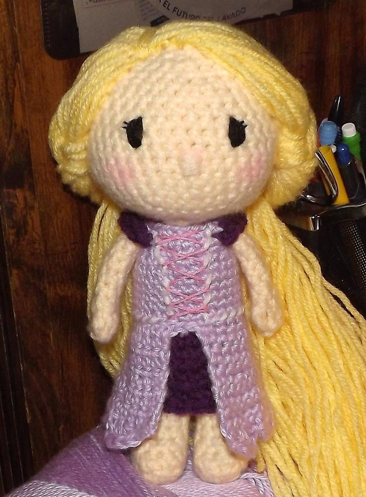 Amigurumi Star Wars Patrones Gratis : Rapunzel Amigurumi Pattern PDF. Crochet Toys Pinterest ...
