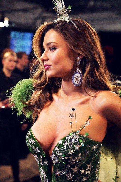 Backstage at Victoria's Secret Show, 2012