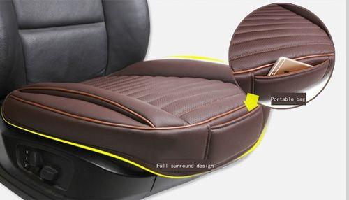 2fa16ec8a0e83 New PU Leather Car Seat Cover Pad Cover for Auto Seat Cushion Full surround