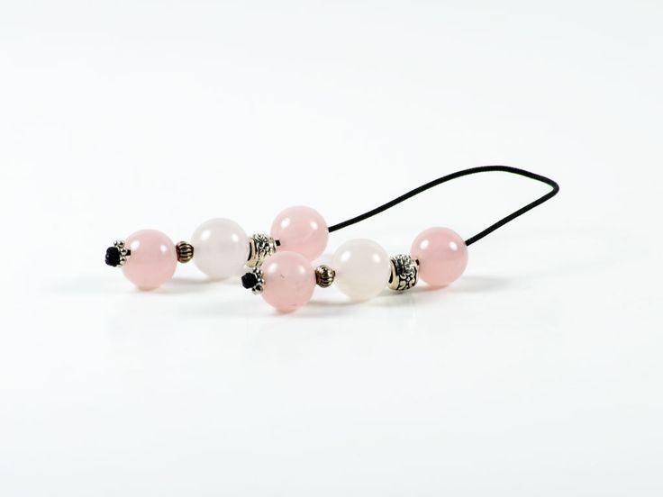 Rose Quartz Gemstone Handmade Greek Begleri | 12x12mm | 6 Rose Quartz Beads by TheBeadedGardencom on Etsy