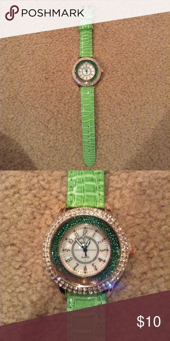 Fun and festive watch Want to be unique? Well, this is just the watch that will make you stand out in a crowd. BNWT! Free gift with purchase🎁 Accessories Watches