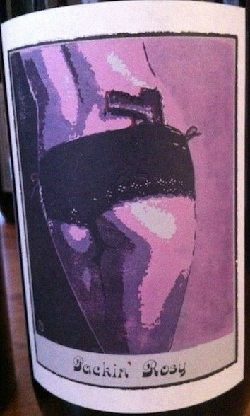 2009 Sine Qua Non Packin' Rosy Meaty and chewy. Spicy. Definite heat. Yet it makes you smile. Silly stuff. 89 points.