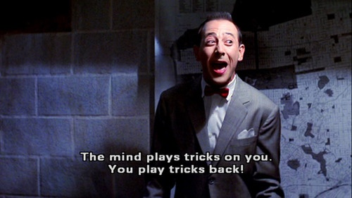 Not sure WHY I think Pee Wee Herman is so hilarious. But I do.