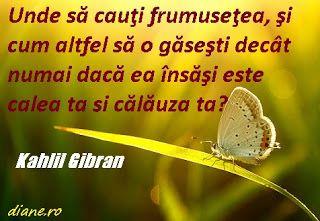Kahlil Gibran Unde să cauţi frumuseţea, şi cum altfel să o găseşti decât numai dacă ea însăşi este calea ta şi călăuza ta?