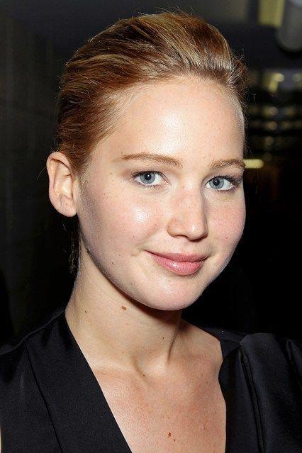 Natural makeup look- Jennifer Lawrence