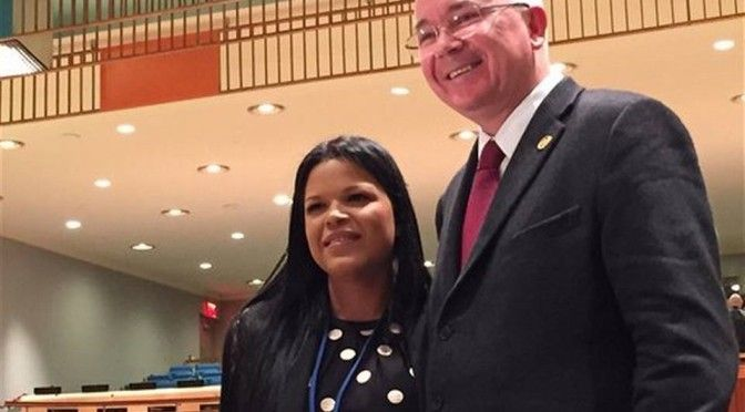 UN bashed for giving job to Hugo Chavez's daughter