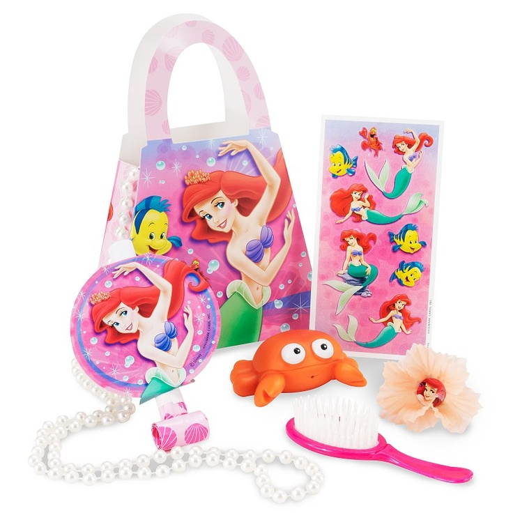 The Little Mermaid Party Favor Kit are for those who want great party supplies at cheap prices. The \u0027Little Mermaid Party Favor Kit\u0027 features Each Little.  sc 1 st  Pinterest & 28 best The little Mermaid Party Favors and decorations images on ...