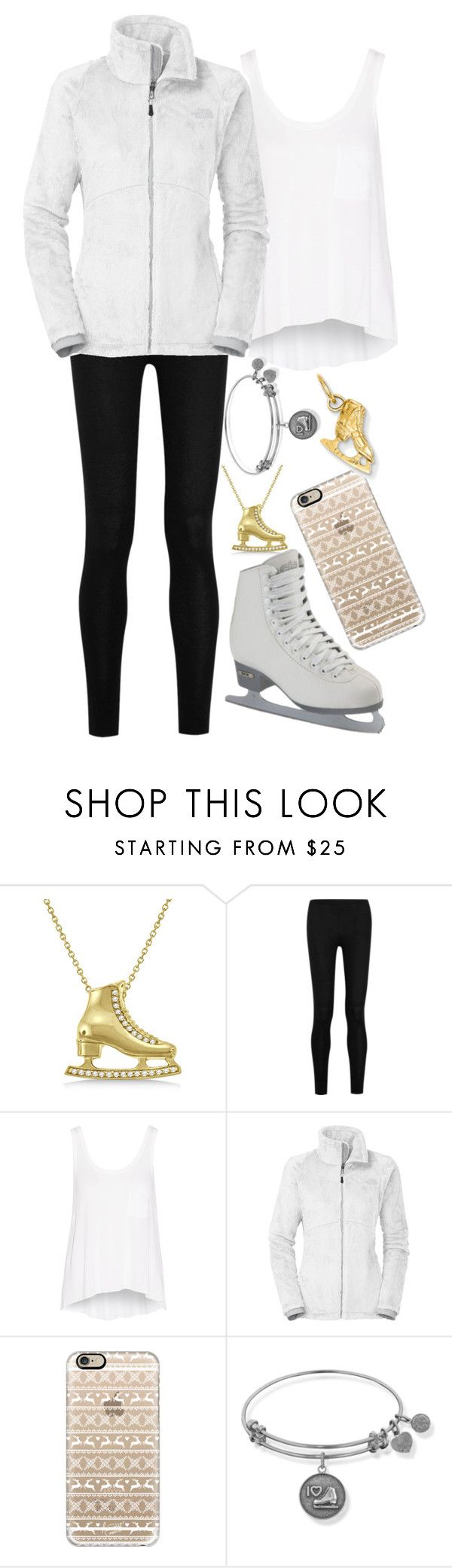 """ROLEPLAY!!!"" by lol-fangirl-af ❤ liked on Polyvore featuring Allurez, Donna Karan, rag & bone, The North Face, Casetify and Kevin Jewelers"