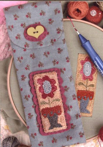 Punch Needle Tool Holder | Hatched and Patched