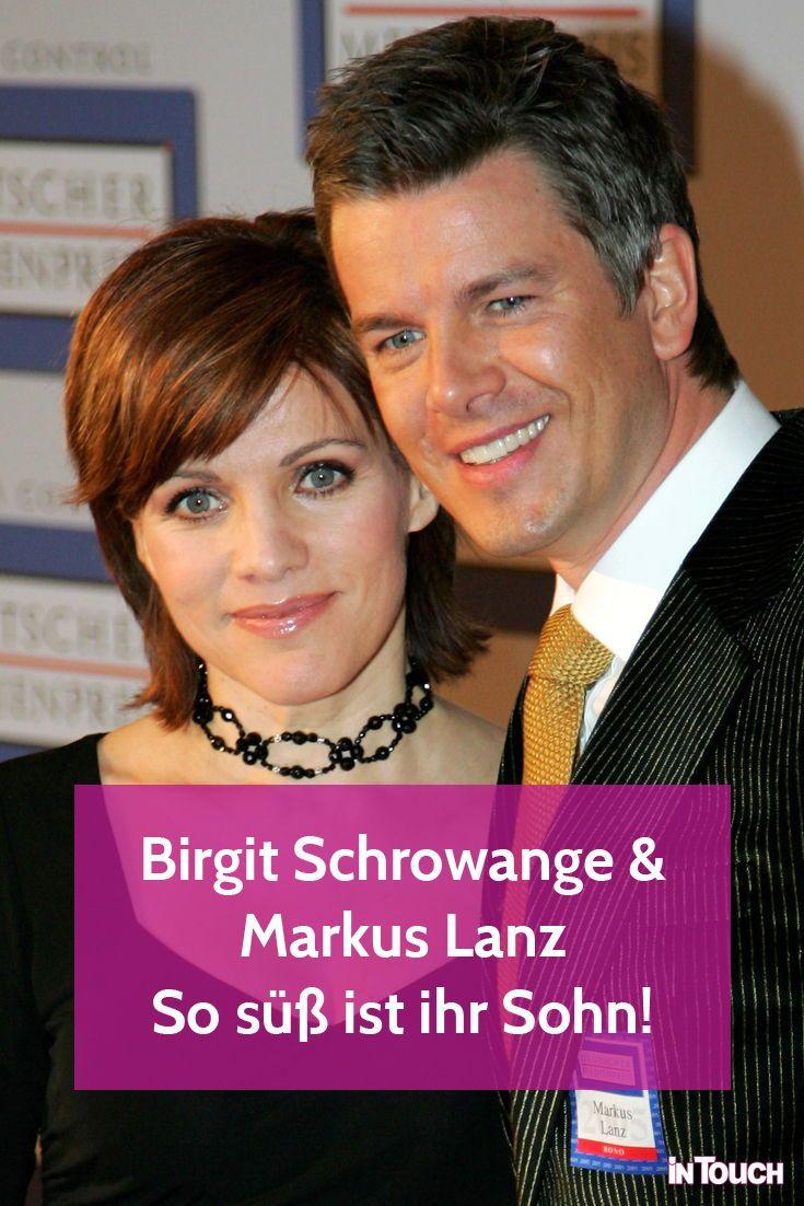 Birgit Schrowange Sohn