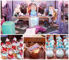 Tema Jasmine - Perla - Inesquecível Festa Infantil