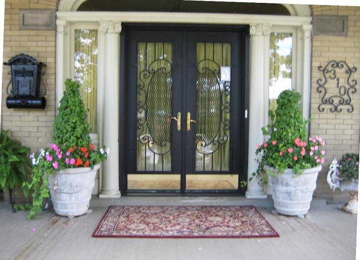 security door grates: Security Door